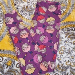 Lularoe exclusive one size 4th anniversary legging